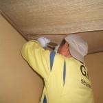 宇部市某所 一軒家屋根裏 ミツバチ巣の駆除